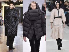 Doudoune - Os casacos confeccionados em material sintético (nylon ou similares), acolchoado e matelassado, ganharam diversas modelagens e entraram de vez no guarda-roupa das fashionistas