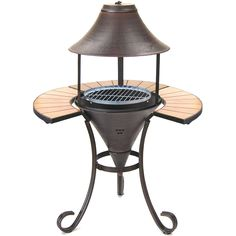 La Hacienda Small Calabria BBQ Firepit Grill: Amazon.co.uk: Garden & Outdoors