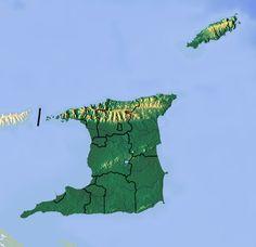 Trinidad and Tobago location map Topographic ◆Trinité-et-Tobago — Wikipédia http://fr.wikipedia.org/wiki/Trinit%C3%A9-et-Tobago #Trinidad_and_Tobago