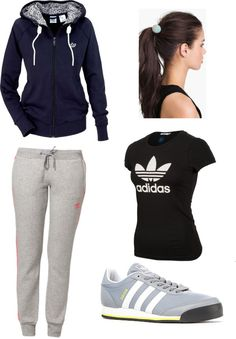 """Adidas Dance Practice Outfit"" by esther-chen-1 on Polyvore"
