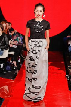 Holly Fulton Fall 2013 Runway Pictures - StyleBistro