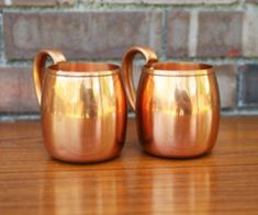 Why Copper Cups Are The Newest Health Trend Health Trends, News Health, Health And Nutrition, Copper Cups, Copper Moscow Mule Mugs, West Bend, Cold Brew Coffee Maker, Ideas Para Organizar, Works With Alexa