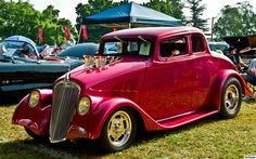 1933 Willys Model 77 Coupe - drag car