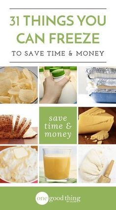 Save money and avoid throwing out food with this important information about what you can freeze, and the best way to freeze it.