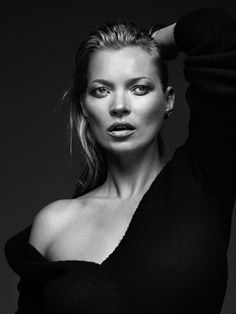 Kate Moss by Bryan Adams for Zoo Magazine