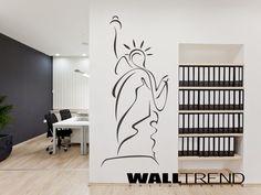 W 0517 New York faltetoválás - WALLtrend - faltetoválás, falmatrica, faldekoráció