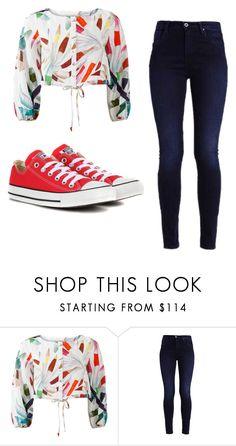 """Mila's casual wear"" by pantsulord ❤ liked on Polyvore featuring Mara Hoffman and Converse"