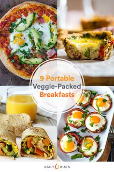 9 Veggie-Packed Brea