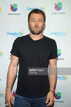 Joel Edgerton is seen on the set of Despierta America to promote the film 'The Gift' at Univision Studios on July 2015 in Miami, Florida.