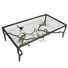 "1stdibs - Paula Swinnen ""Perroquet"" Bronze Coffee Table explore items from 1,700  global dealers at 1stdibs.com"