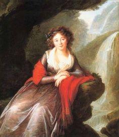 Elizabeth Vigée-Le Brun (French painter) 1755 - 1842 Comtesse Anna Potocka, 1791