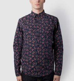 10.Deep Navy Roses Brooklyn Botanic Shirt | Hypebeast Store