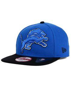 New Era Detroit Lions Classic Xl Logo 9FIFTY Snapback Cap