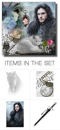 """I'am The Sword In The Darkness , I'am The Watcher On The Wall ...."" by cathinka180 ❤ liked on Polyvore featuring art"