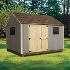 Quality Outdoor Structures T0812SC Smart Siding Cottage (8 ft. x 12 ft.)