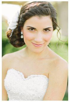 white wedding hair accessories white bridal by serenitycrystal, $50.00