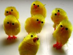 Easter is coming... time for these to invade our house...