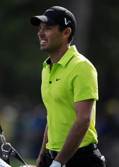 Charl Schwartzel walks to the first green during Thursday's first round of the 2012 Masters Tournament at Augusta National Golf Club on April 5, 2012, in Augusta, Ga.