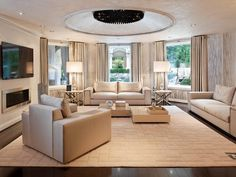 Contemporary Living-rooms from Dahlia Mahmood on HGTV