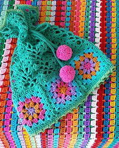 Welcome To The Best Of Craft Schooling Sunday: Granny Crochet