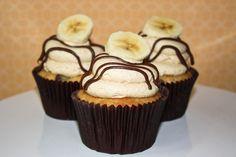 cupcake banana - Buscar con Google