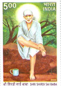 20th May 2008: A commemorative postage stamp on      'SHRI SHIRDI SAI BABA'  Denomination INR 05.00