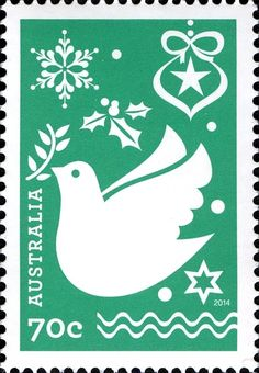 These festive and colourful contemporary stamps represent the familiar trappings and sentiments of Christmas celebration and recall techniques of paper cut design as well as snow crystals Aussie Christmas, Australian Christmas, Christmas 2014, Christmas Themes, Beautiful Christmas Scenes, Christmas In Australia, Commemorative Stamps, Paper Cut Design, Postage Stamp Art