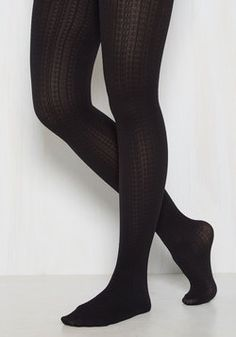 224692aa70f44 Cable for Discussion Tights in Black Workout Shoes, Cute Socks, Black Tights,  Fall