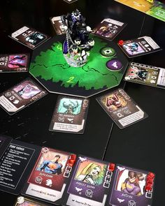 """@boardgamegeek: """"Batman Who Laughs Rising from @theopgames is just another great game in the Rising series! Very…"""" Game Card Design, Tabletop Games, Design Reference, Card Games, Batman, Cards, Board Games, Maps, Playing Cards"""