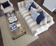How to Incorporate a Coastal Interior Design Theme - Coastal Decor - Interior Design, The Hamptons, Home, Hampton Furniture, Interior, Family Room, Rental Furniture, Hamptons Style Living Room, Home Decor