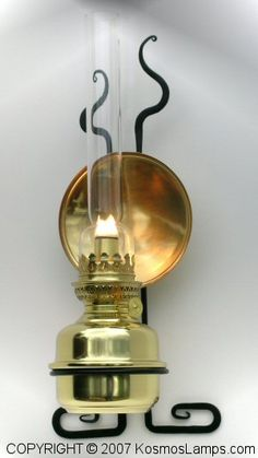 Check out the deal on Amie Solid Brass Lamp with Wall Hanger at W.T. Kirkman Oil and Electric Lanterns