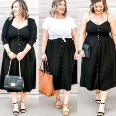 Beautiful Plus Size Fashion For Women Inspiration; Examining Systems Of Plus Size Fashion - Charlene dress Fat Girl Fashion, Curvy Fashion, Petite Fashion, 70s Fashion, Korean Fashion, Fashion Movies, Fashion Black, Fashion Vintage, Grunge Fashion