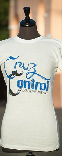 Cruz Control in white #cruzan #crucian #stcroix #virginislands #honeynlime