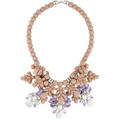 Pre-owned EK Thongprasert Holboellia Latifolia Necklace ($275) ❤ liked on Polyvore featuring jewelry, necklaces, beaded jewelry, bead necklace, ek thongprasert, preowned jewelry and pre owned jewelry
