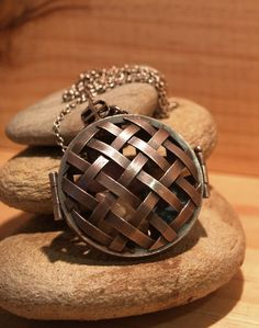 Pendant Locket - Sterling Silver