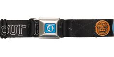 Fantastic Four Faces Circles Seatbelt Belt #blackfriday #blackfridaysale