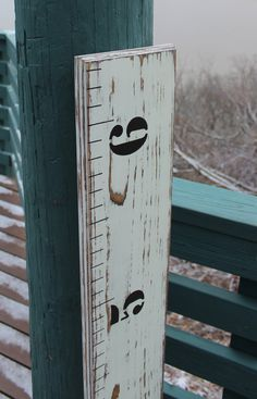 Children's Wooden Growth Chart Ruler For A Nursery, Baby Room Or Kids Room  - Weathered on Etsy, $59.99