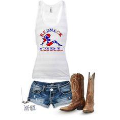 """""""Redneck Girl"""" by hotcowboyfan on Polyvore"""