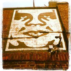 "#graffiti #streetart #brooklyn #andrethegiant"" #obey"