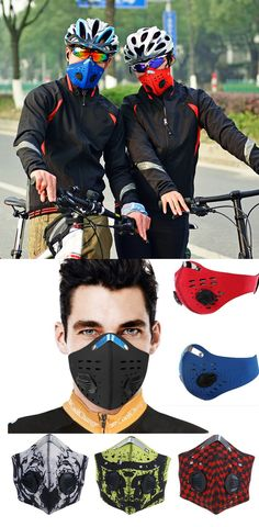 ACTIVE SPORTS: It focuses on the 'urban trainer', the 'home runner' or the multi-sport end user, for whom breathing rates are typically higher than your average commuter. The two valves on the mask allow for faster air flow when working out at elevated breathing rates, i.e. when you are giving it the beans from A to B. This equates to less back pressure, less dampness in the filter, improved filtration & lower inhalation resistance, which in turn leads to improved comfort & performance.