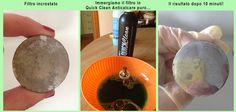 Rimuovere il calcare dai filtri dei lavandini con #quickclean