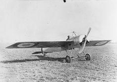 GERMAN FIRST WORLD WAR AIRCRAFT (Q 48895)   Fokker E 111 Monoplane, 100 hp Oberursel engine, captured aircraft at Pau.