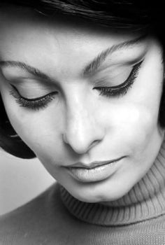 """""""...appeal is 50% what you've got and 50% what people think you've got.""""-Sophia Loren...expert at flattering make up."""