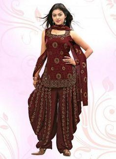 Patiala Salwar Kameez Designs 2014