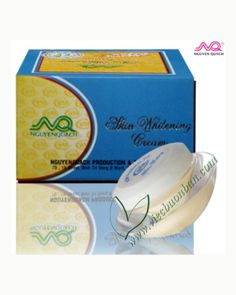 Skin Whitening Cream $3.80 - Skin Whitening Cream  Whitening cream, reduce wrinkles, lightening of pigment spots, dark spots and freckles. Anti-aging and gives you a new, smooth and bright skin.  Application:After cleaning the face apply cream. You can use th… #whitening #wrinkles #spots #freckles #vietnam #shopping