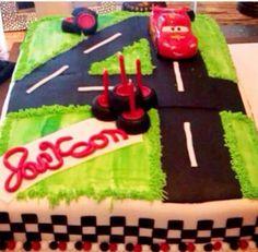 MY NEPHEWS BIRTHDAY CAKE!
