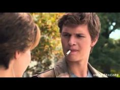 """NEW The Fault In Our Stars Clip """"It's a metaphor"""" ASDFGHJKL OH MY GOSH IT'S PERFECT IT'S PERFECT I CAN'T OMG"""