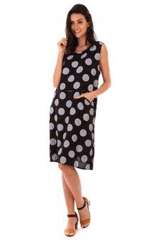 LIN Passion Kleid, kurz, ärmellos, Rundhals schwarz Jetzt bestellen unter   ... ef23848e09