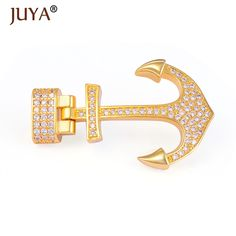Cheap supplies for jewelry, Buy Quality anchor clasp directly from China for jewelry Suppliers: Supplies For Jewelry DIY leather bracelet clasp hook rhinestone anchor clasps for making mens bracelets Accessories findings Enjoy ✓Free Shipping Worldwide! ✓Limited Time Sale✓Easy Return.
