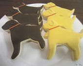 Dog shaped decorated cookies - Google Search